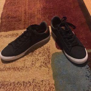 Size 9.5, men's, Levi's shoes.